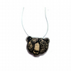Whimsical Bear Resin Necklace by EllyMental