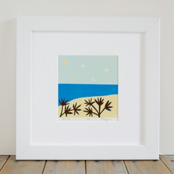Sea Air Lino Print