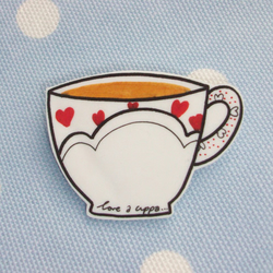 Nice Tea Love Badge