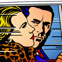 Mad Men Don & Betty Draper art print 12 x 16 inches