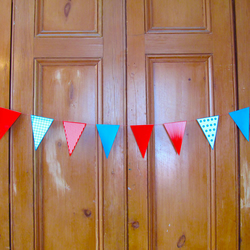 Spots and Stripes Paper Bunting!