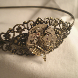 Steampunk Butterfly Headband