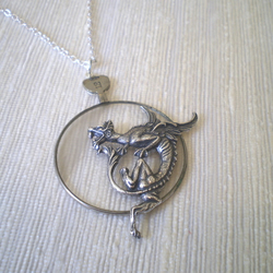 "Steampunk ""Eye Of The Dragon"" Necklace"