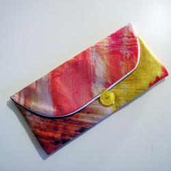Sunset glasses case or purse