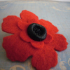 Charity POPPY Brooch - ALL proceeds to Royal British Legion.