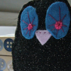 nB RESERVED FOR PEGGYSKNITS! Disco Owl Brooch...