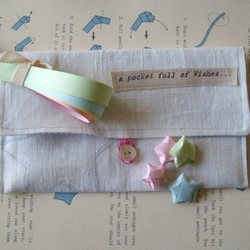 A Pocket Full of Wishes Origami Gift Purse by More Cake..designs