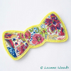 Sale - Liberty Fabric Bow Brooch