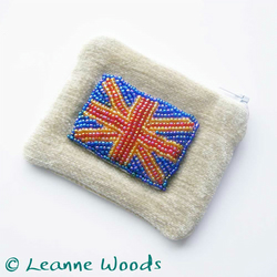 SALE - Union Flag Coin Purse