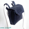 Reserved - Black Leatherette Pannier
