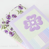 One day sale - Gift Card Wallet and Card in Viola