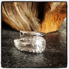 GingerOriginal Vintage Sterling Silver Spoon Ring