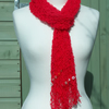 Beautiful Hand Knitted Summer Scarf    Wrap    Pashmina