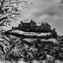 'Castle In The Snow' print