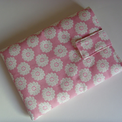 "LAST ONE - iPad Mini 7"" Tablet Cover - Pink Daisy"