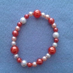 Elasticated  Bracelet -  Tangerine Dream