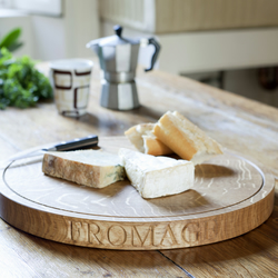 Round Oak Cheese Board