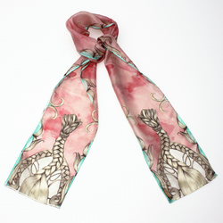 Braids Thin Scarf