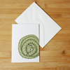 Illustrated Grass Snake Card