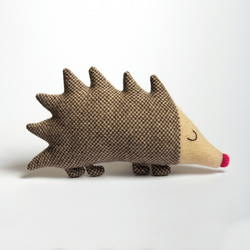 Mabel Hedgehog Lambswool Plush - Made to order