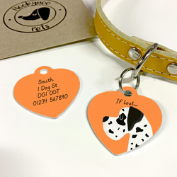 Great Dane Collar Name Tag