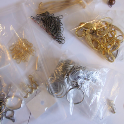 Destash New Unused Mixed Lot Key Ring, Trigger Clasps and Bookmark