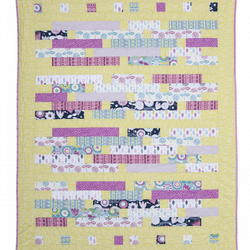 'Changing Seasons' Patchwork Quilt Throw