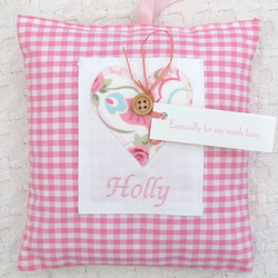 Personalised Boys Tooth Fairy Cushion