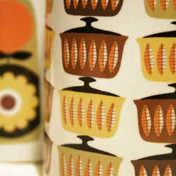 Orange Casserole Mug - Retro inspired, Swedish Style, kitchen gift