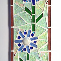 Stained glass Mosaic mini panel to hang