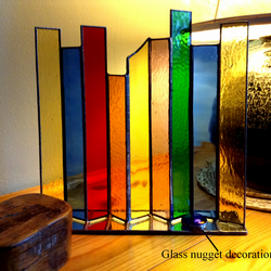 Decorative Stained Glass ornament - screen - lightcatcher
