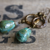 Rustic Drop Earrings