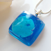 Sand Dollar Necklace in Resin Nautical Beach Summer - SEASIDE