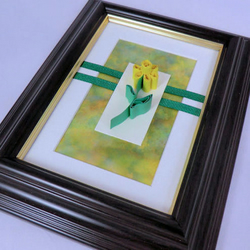 ***SALE*** Framed Picture - Quilled Daffodil