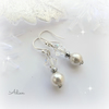 Pearl Earrings with Swarovski™ Sterling Silver