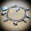 """Dreaming of the sea"" charm bracelet"