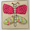 Butterfly applique card