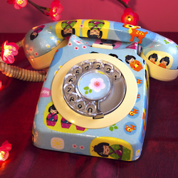Geisha Kawaii Vintage Phone