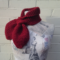 Big Betty Scarf - Cherry
