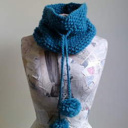 SALE Polly Cowl - Teal