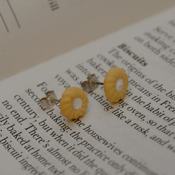Iced Biscuit Earrings