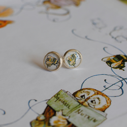 Beatrix Potter Bumble Bee Earrings