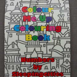 Colour Me Up Colouring Book by Sleepingcities