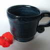 Beautiful Blue Mugs Ceramic Pottery