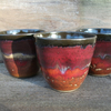 Set of 3 Mini Tumbler -  espresso cups, hot toddies, chocolate mousse