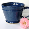 Big Beautiful Blue Mug Pottery