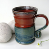 Seasonal Mug - Tea, Coffee, Hot Chocolate, Ceramic Stoneware Pottery '2'