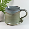 Landscape Mug - Mountain Green Pottery, Stoneware, Wheelthrown, Ceramics,