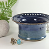 Ceramic Jewellery Bowl to display earrings, bracelets and bangles. UK Pottery.
