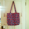 Union Jack shopper bag with inside pocket